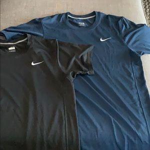 Nike dry fit shirts